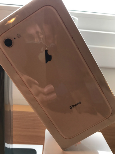 iphone 8 de 64 gb (gold) lançamento lacrado