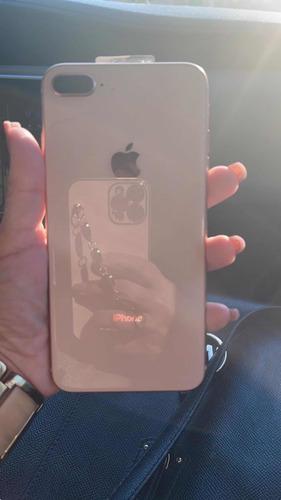 iphone 8 plus 256 gb golden rose-sem marcas de uso