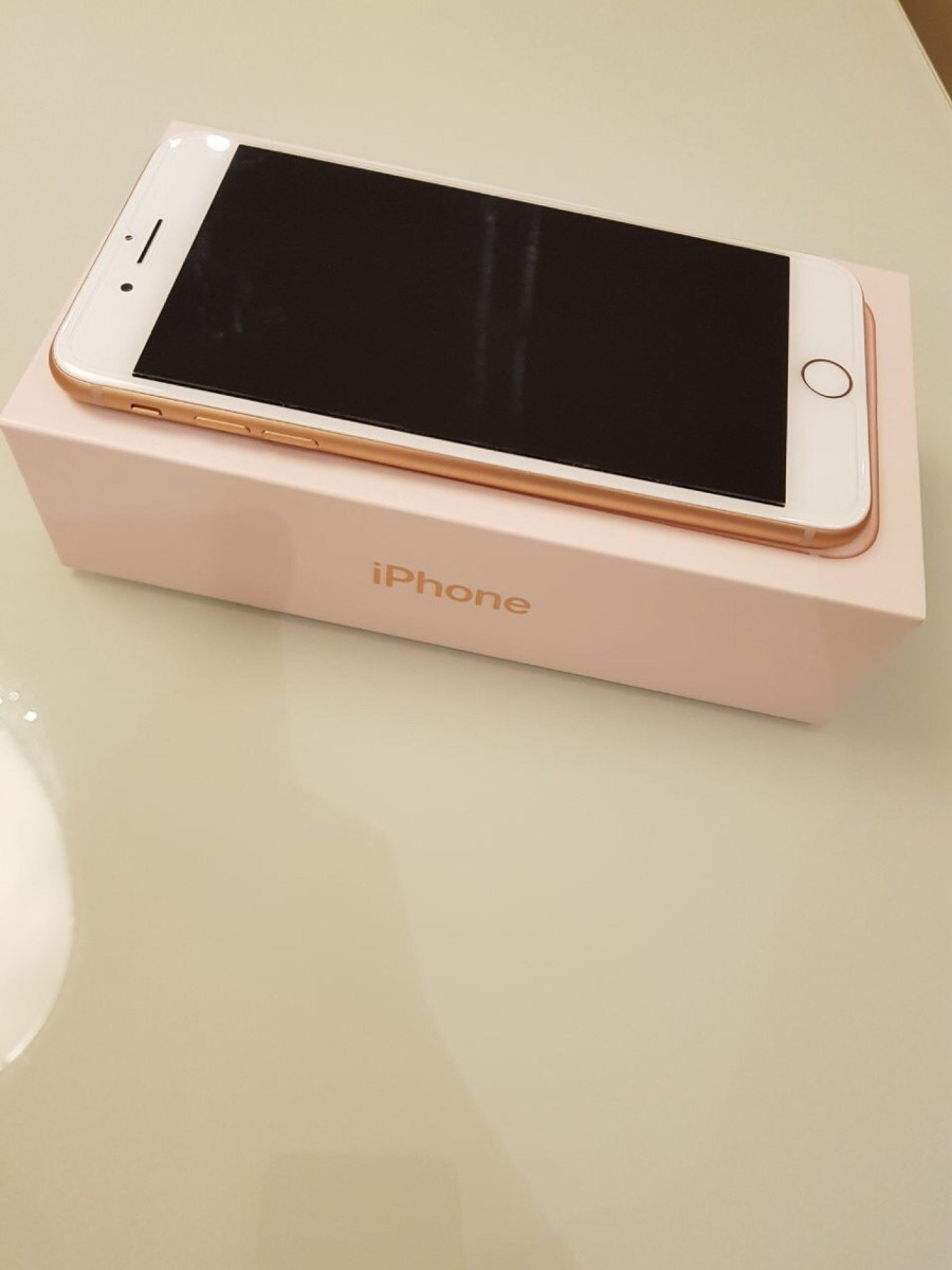 iphone 8 plus 256 gb rose gold r em mercado. Black Bedroom Furniture Sets. Home Design Ideas