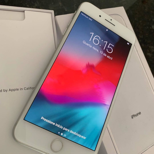 iphone 8 plus 256gb' plateado ' factory 12 meses de garantia