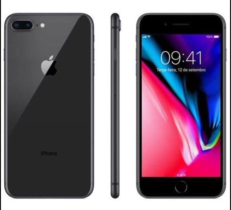 Iphone 8 Plus 64 Gb Apple - Spice Gray (preto) - R$ 4.898,99 em Mercado Livre