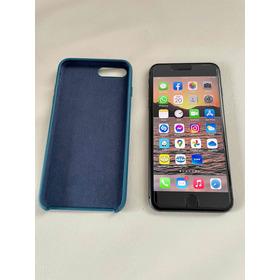 iPhone 8 Plus 64 Gb Negro, Cable, Cargador, Case Y Vidrio