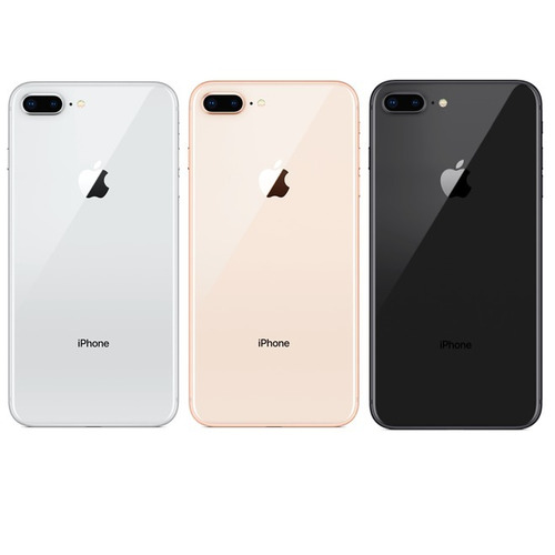iphone 8 plus 64gb ,colores oro,negro,plata