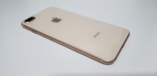 iphone 8 plus 64gb dourado prata original apple vitrine