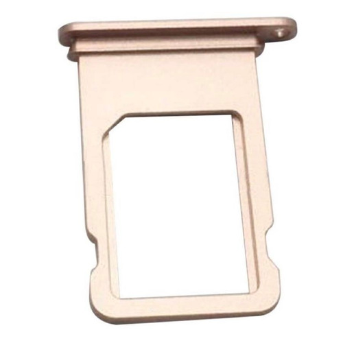 iphone 8 plus bandeja porta sim dorado charola chip