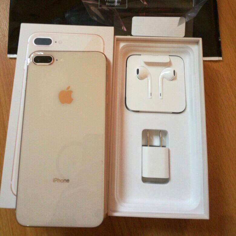 Iphone  Plus Dorado