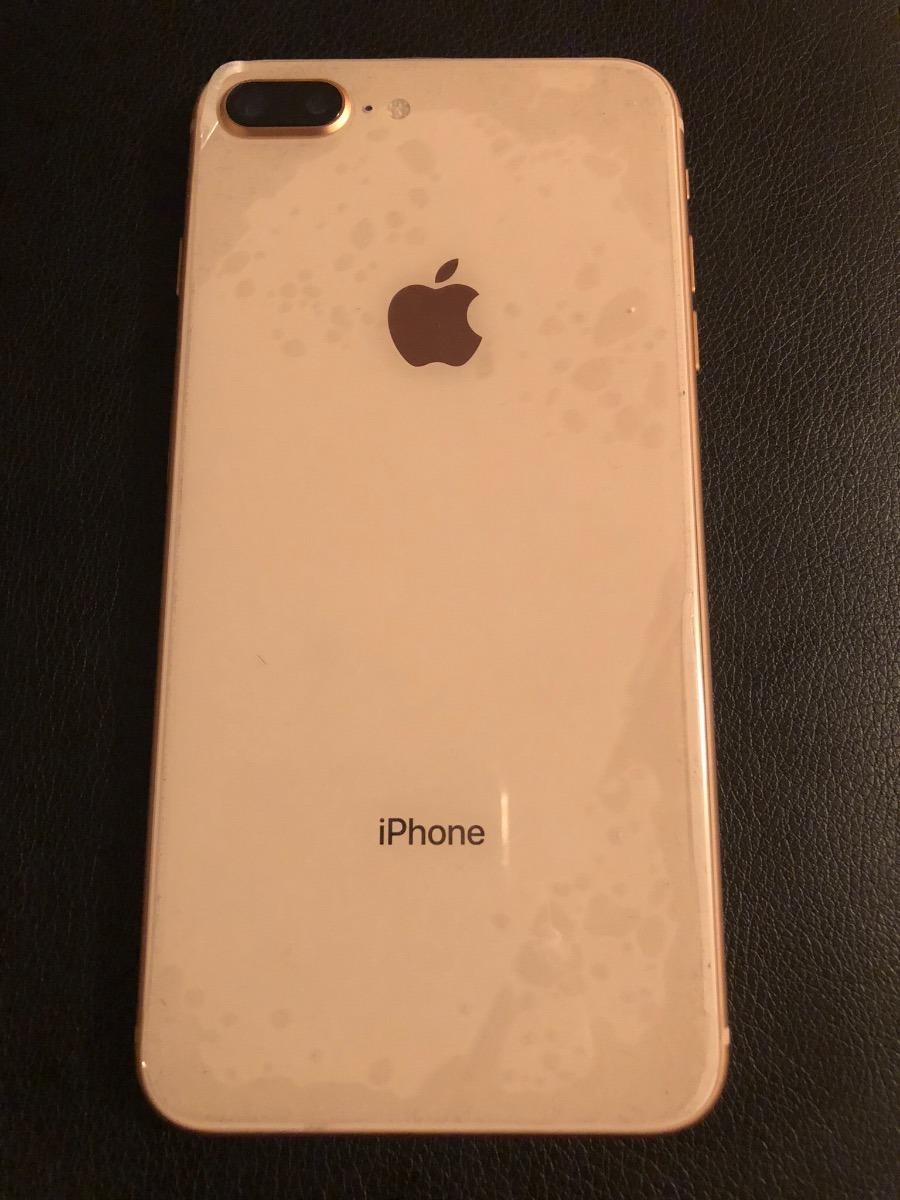 iPhone 8 Plus Dorado, Seminuevo Estética 10 - $ 16,500.00