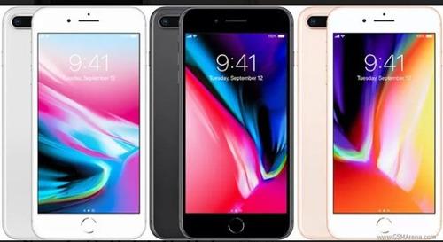 iphone 8 plus mas regalo + 3 forros armortec