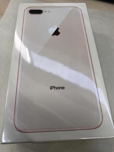 iphone 8 plus oro rosa, 64 gb caja sellada