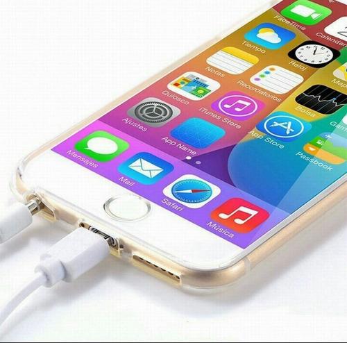 iphone acessorio silicone capa celular