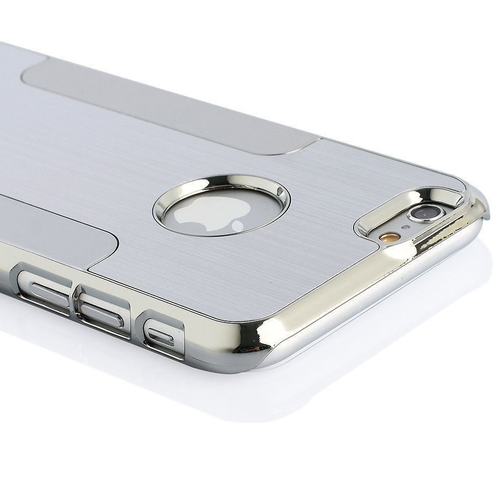 Funda iphone 6 plus elegante carcasa cromada de aluminio - Fundas nordicas elegantes ...
