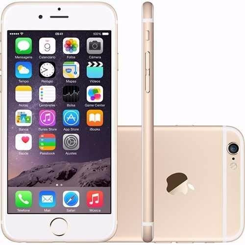 iphone apple 6s 16gb 4g tela 4,7 + capa lacrado com garantia