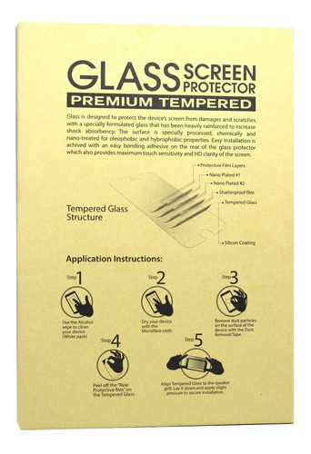 iphone fotrust 6 / 6s / 7/8 protector de pantalla 2 pack tem