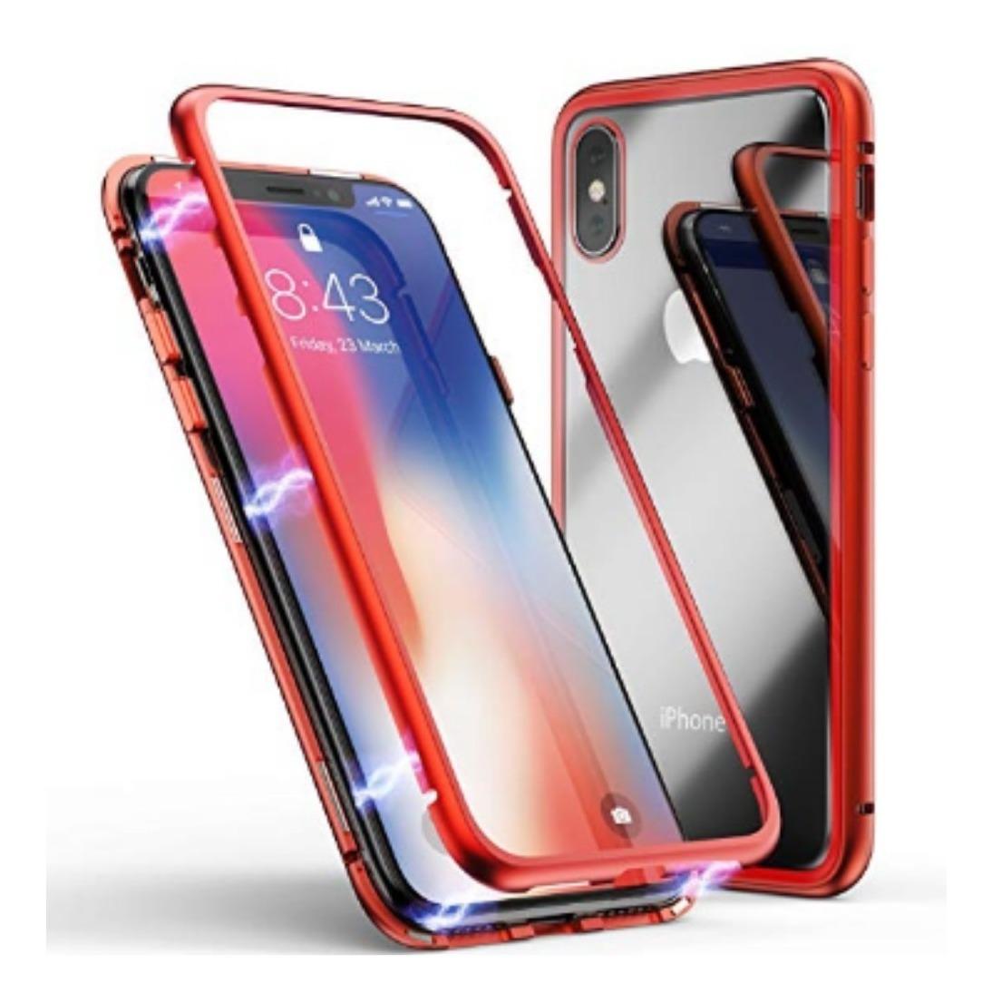 4425d967c51 iPhone Funda Carcasa Protector Magnético X, 8 Plus, 7 Y 6 - $ 289.00 ...