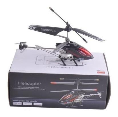 iphone rc 3 canales helicóptero de control remoto iphone con