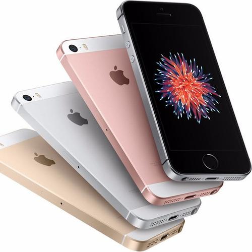 iphone se 16gb 4g lte 4k 12mp libre, sellado, 5se, factura a