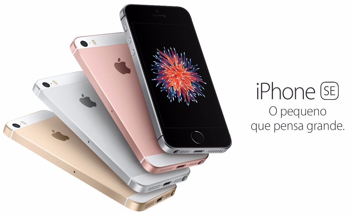 Iphone Se 16gb Apple A1662 4g Garantia Apple Consultar Cor