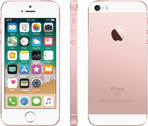 iphone se 16gb - id touch - libres de fabrica - envio gratis