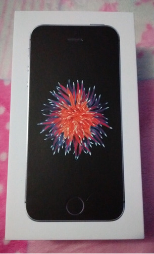 iphone se 32gb 2017 space gray nuevo libre!