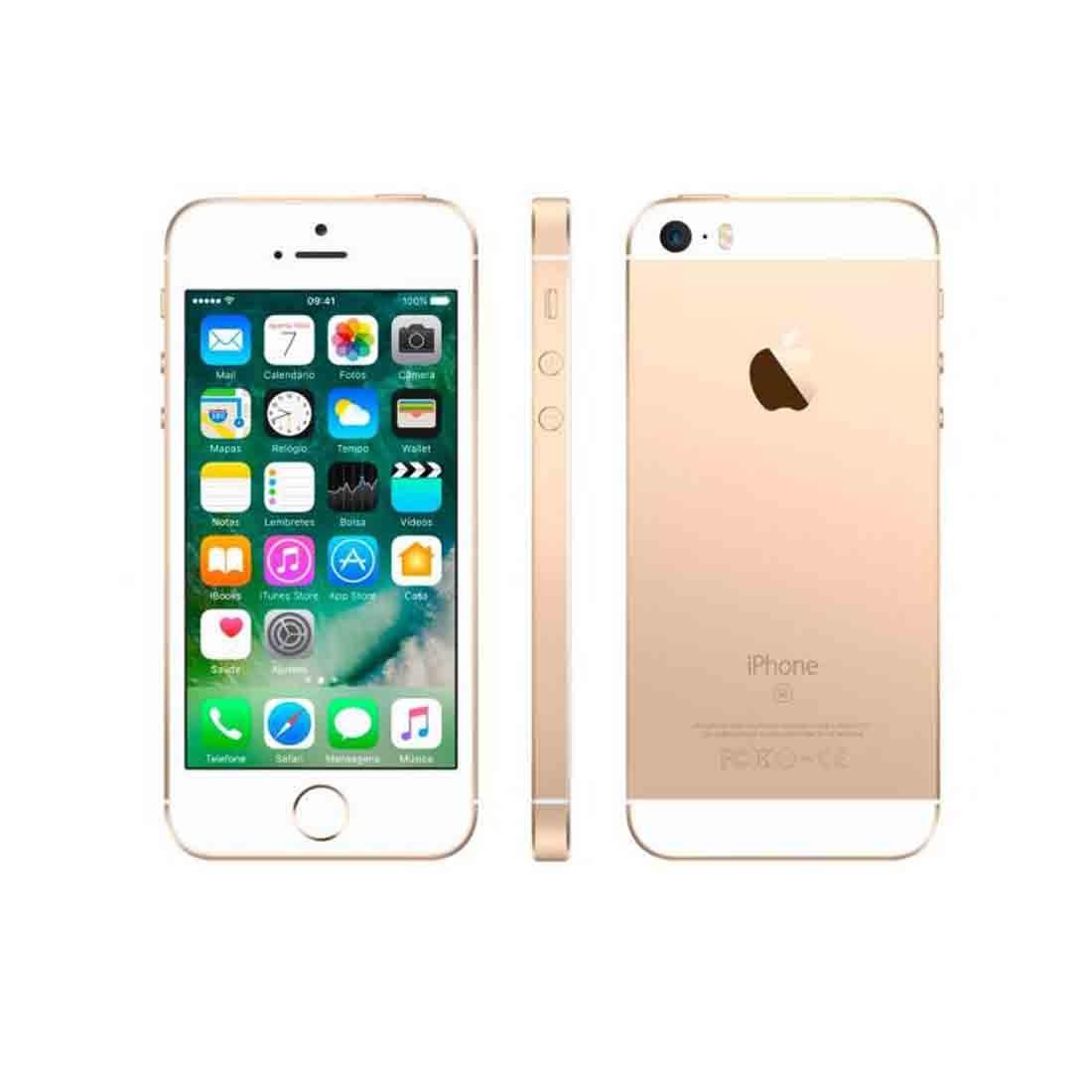 a3cf52937 iPhone Se 32gb Dourado Apple - 4g, Tela 4 - R$ 2.063,49 em Mercado Livre