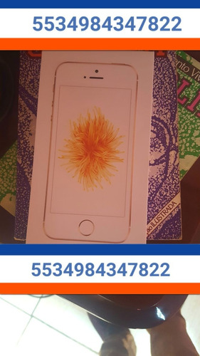 iphone se 32gb rose original garantia apple