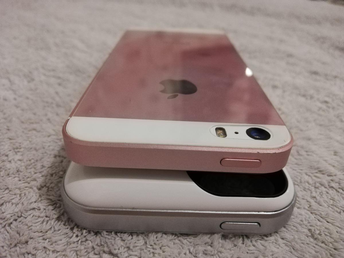 eba70256ea2 iphone se 64gb at&t rosa + funda cargador 16gb envio gratis. Cargando zoom.