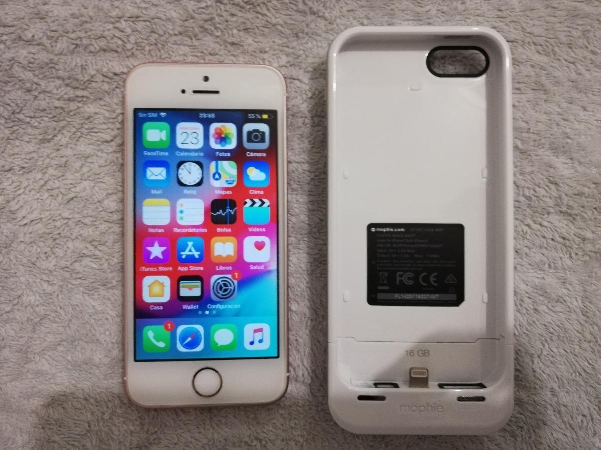 77f669fc176 iphone se 64gb at&t rosa y funda cargador 16gb envio gratis. Cargando zoom.