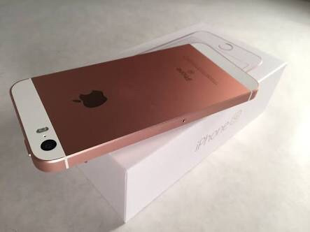 iphone se 64gb ouro rosé