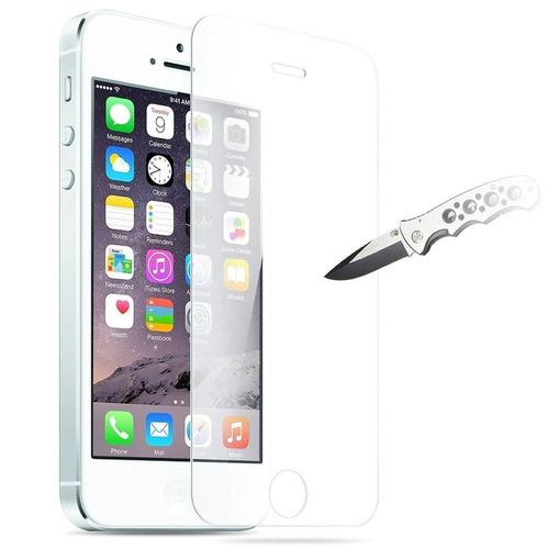 iphone se protector de pantalla, jetech 3-pac + envio gratis