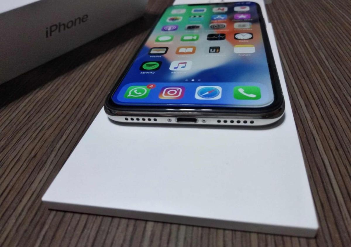afe53605326 iPhone X 256 Gb Libre Inmaculado Accesorios, Caja Y 3 Fundas ...