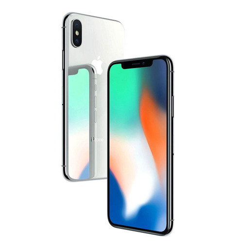 iphone x 256 gb - plata apple