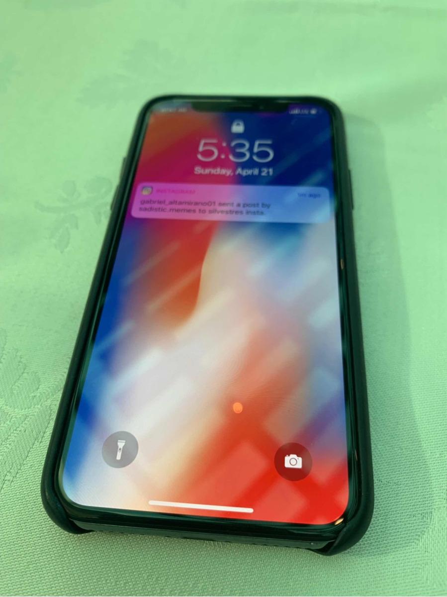 Iphone 10 black 256 gb mas barato del mercado nuevo