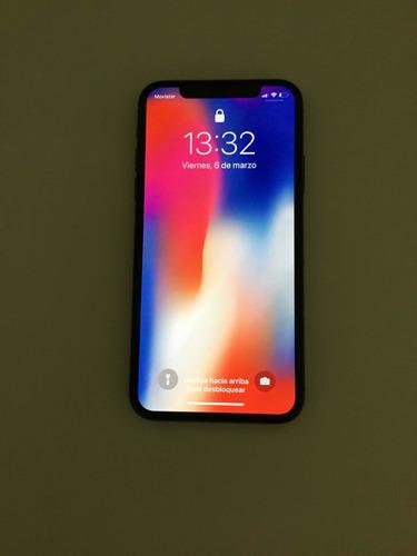 iphone x 256gb con 2 fundas