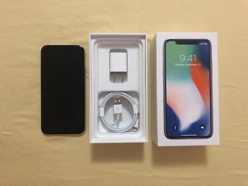 iphone x 5.8 64/256 gb 3gb ram 12mpx apple a11 tienda fisica