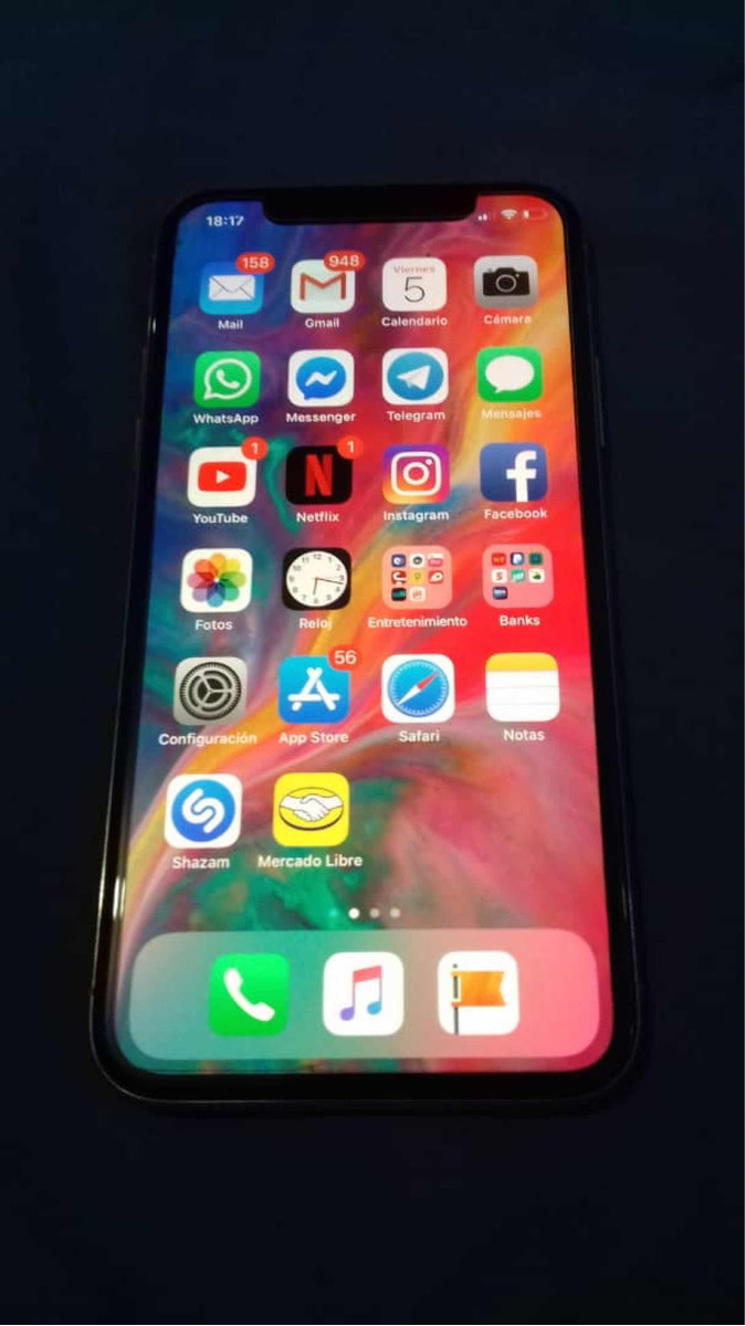 a623768cc73 iPhone X 64gb Nuevo, 10/10 Accesorios Y Caja Liberado - S/ 2.499,00 ...