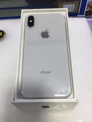 iphone x de 64 gb caja completo.