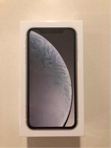 iphone xr 64 gb branco lacrado (brasil, com nf)