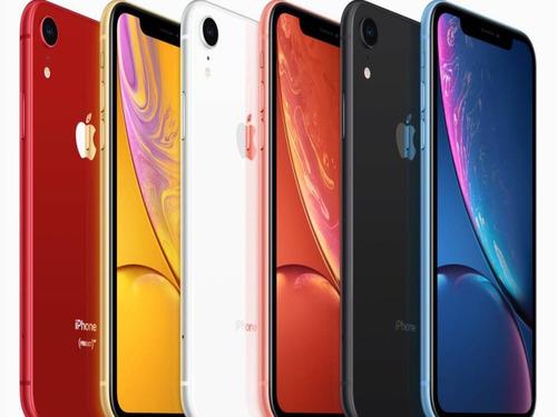 iphone xr 64 gb nuevo en caja garantia 4 tiendas (colores)