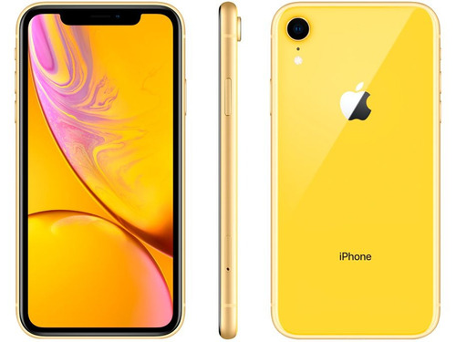 iphone xr 64gb amarelo mod a2105 (anatel)