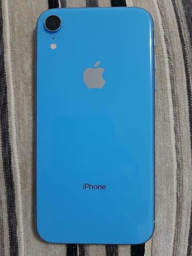 iphone xr 64gb azul en perfecto estado.