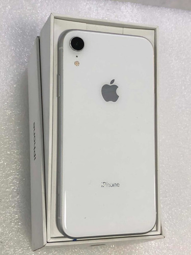 iphone xr de 128 gb blanco.