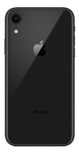 iphone xr tela 6,1, 64 gb, câmera de 12 mp + capa e pelicula