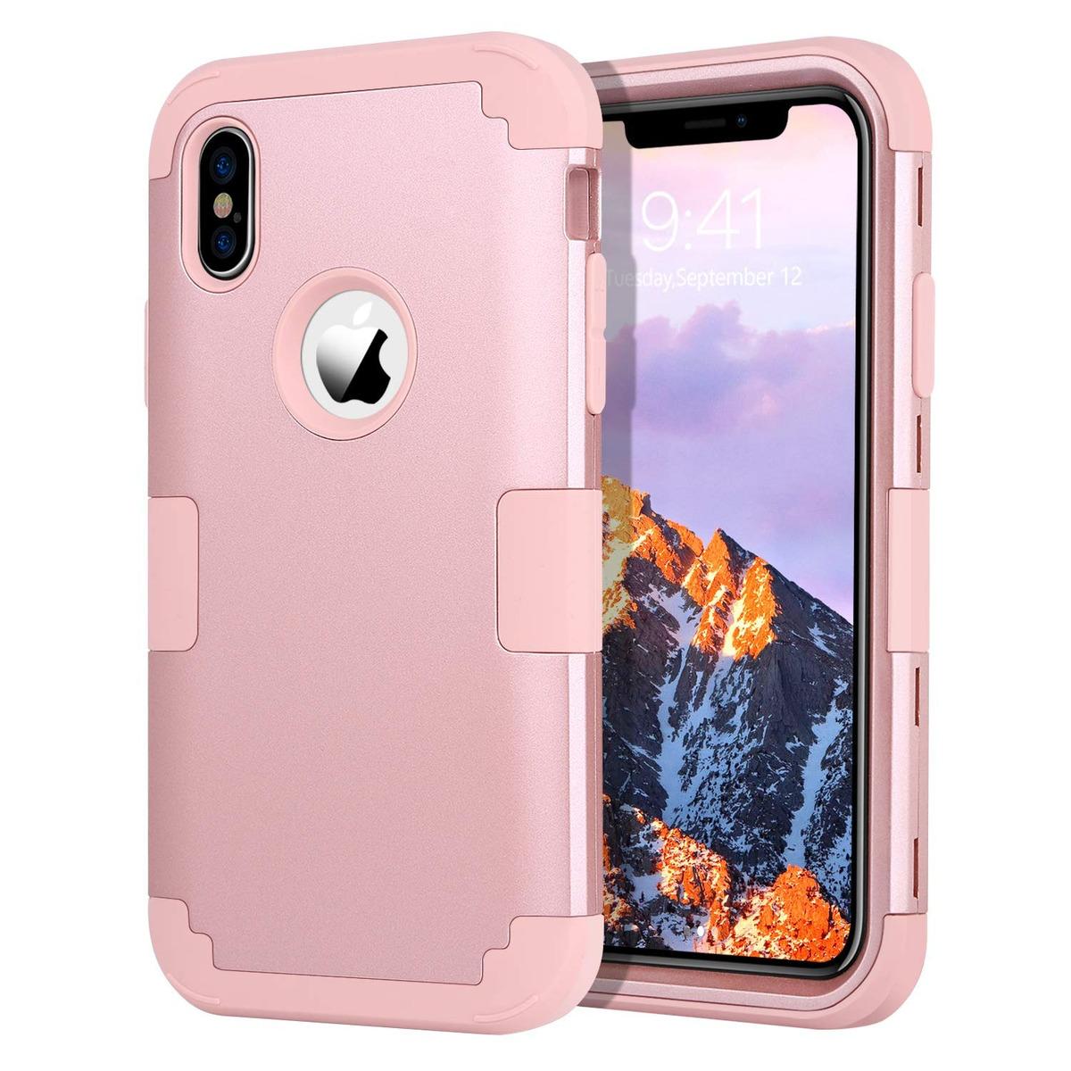 d64b4254e2e iPhone Xs Funda Para iPhone X Funda Guagua Three Layer Girls - $ 409 ...