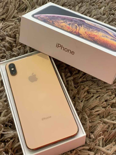 iphone xs max 256 g ouro usado