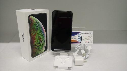 iphone xs max 256gb nuevo libre original + mica de cristal
