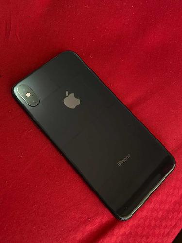 iphone xs max 64gb negro 10/10 con caja y accesorios.