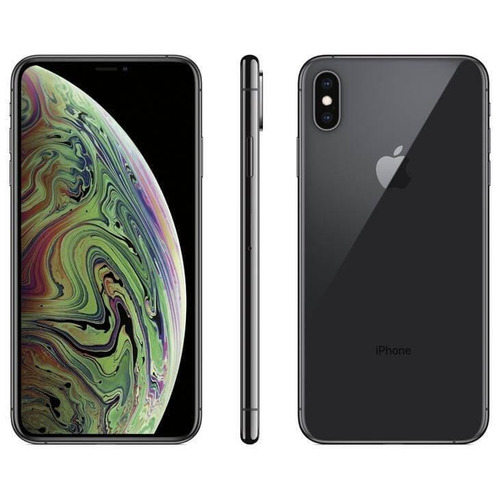 iphone xs max apple cinza espacial, 256gb desbloqueado