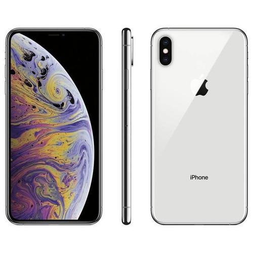iphone xs max apple prata, 256gb desbloqueado - mt542bz/a
