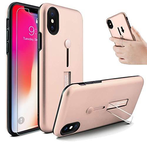 iphone xs max caseowrora correa para el dedo anillo de la ba