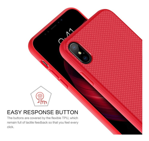 iphone xs max protector case red blue